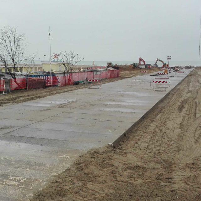 Tombamento del canale Ausa a Rimini